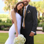 wedding portrait Hammock Dunes Florida