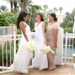 Bride and wedding party Hammock Dunes Florida